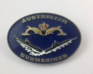 Australian Submarines Belt Buckle