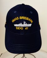 HMAS BRISBANE DDG-41 1967-2001 Uniform Ball Cap