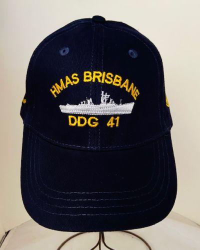 HMAS BRISBANE DDG-41 1967-2001 Uniform Ball Cap