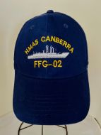HMAS Canberra FFG-02 Uniform Ball Cap(1981-2005)