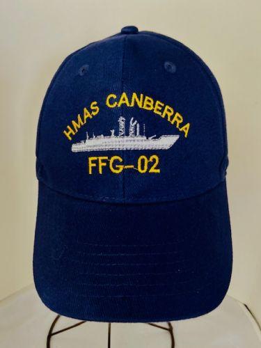 HMAS Canberra FFG-02 Uniform Ball Cap(1981-2005)