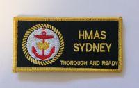 HMAS Sydney DPNU Uniform  Patch (Old)