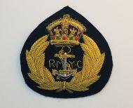 Royal Motor Yatch Club Cap Badge (gold bullion)