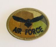 AIR FORCE Oval Patch (Camo)