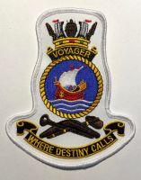 HMAS Voyager Crest Cloth Patch