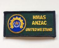 HMAS Anzac DPNU Uniform Patch