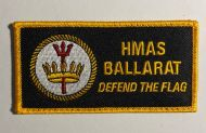 HMAS Ballarat FFH-155  DPNU Uniform Patch New