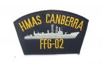 Cloth Patch -HMAS CANBERRA FFG-02
