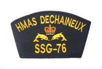 Cloth Patch - HMAS DECHAINEUX