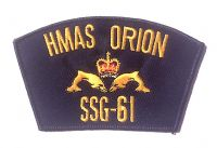Cloth Patch - HMAS ORION SSG-61