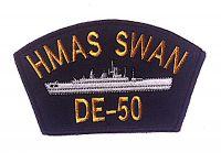Cloth Patch - HMAS SWAN DE 50