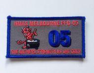 HMAS Melbourne FFG-05 DPNU Uniform Patch