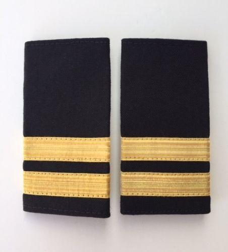 2 Stripe Deckhand Soft Epaulette (12mm)