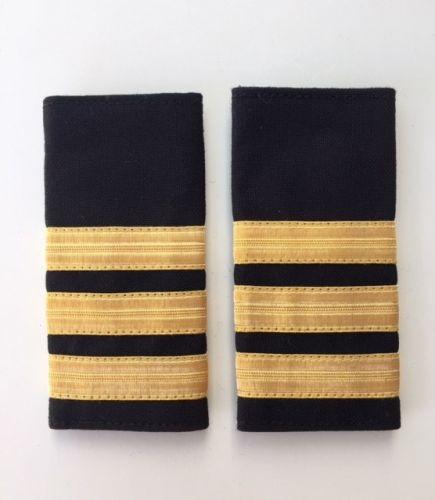 3 Stripe Deckhand Soft Epaulette (12mm)