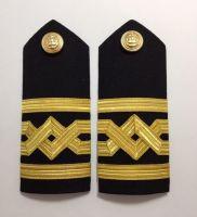 Masters Hard Board Epaulettes Merchant Navy