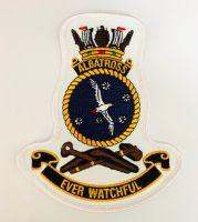 HMAS Albatross Crest Cloth Patch