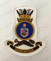 HMAS Australia Crest Cloth Patch