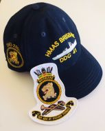 HMAS BRISBANE DDG-41 1967-2001 Ball Cap & Patch Combo
