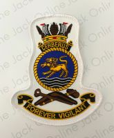 HMAS Cerberus Crest Cloth Patch