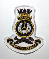 HMAS Derwent Crest Cloth Patch