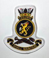 HMAS Leeuwin Crest Cloth Patch