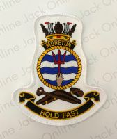HMAS Morton Crest Cloth Patch