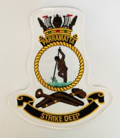 HMAS Parramatta Crest Cloth Patch