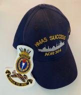 HMAS Success AOR-304 Ball Cap & Patch Combo