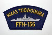 HMAS TOOWOOMBA FFH-156 Cloth Patch