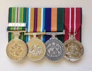 Medal-Australian Active Service Afghanistan Border Protection Australian Defence Medal With Free Ribbon Bar (AASM/AFGAN/OSM/ADM)