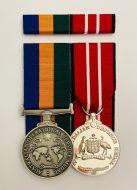 Australian Operational Service Medal Border Protection & Australian Defence Medal (OSM/ADM) Free Ribbon Bar