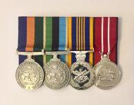 Australian Operational Service Medal-Border Protection (BP) Australian Operational Service Medal-Greater Middle Eastern (GME) Defence Long Service Medal (DLSM) Australian Defence Medal With Free Ribbon Bar(OSM OSM DLSM ADM)