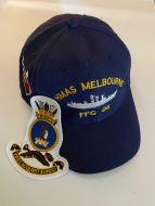 HMAS Melbourne FFG-05 uniform Ball Cap & Cloth Patch