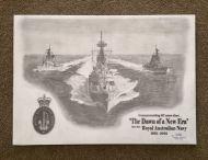 HMAS HOBART -HMAS PERTH-HMAS BRISBANE Pencil Print