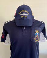 HMAS Melbourne Polo & Cap (combo)