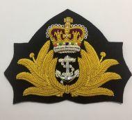 RAN Officers Cap Badge