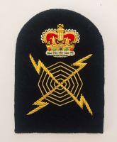 Petty Officer Radar Plotter (PORP) Gold Wire Bullion Rate Badge
