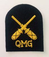 Royal Australian Navy QMG Rate Gold Wire Badge
