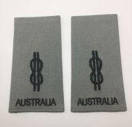 Able Seaman (AB) Soft Rank Insignia (Grey)