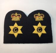 Chief Petty Officer Cook -Collar Rank/Rate Gold Wire (Pair)