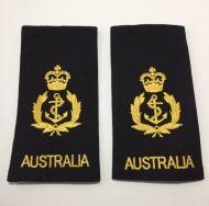 Chief Petty Officer (CPO) Soft Rank Insignia (SRI) - Black