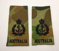 Chief Petty Officer (CPO) Soft Rank Insignia (SRI) - Camo