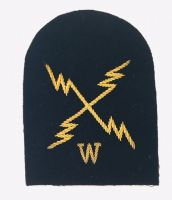 ETW Electrical Technical Weapons Gold Wire Bullion Rate Badge