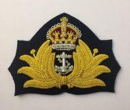 Kings Crown Officers Cap Badge