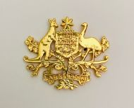 Australian Coat of Arms Metal badge