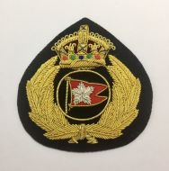 White Star Line Officers Cap Badge