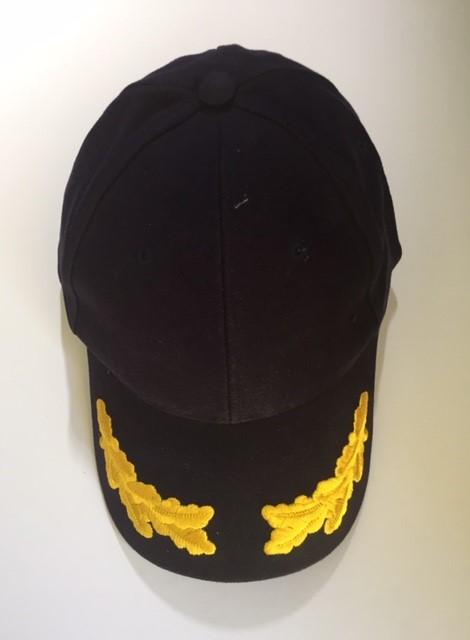 RAN Uniform Ball Cap with Peak Braid - RAN Uniforms, Navy ...